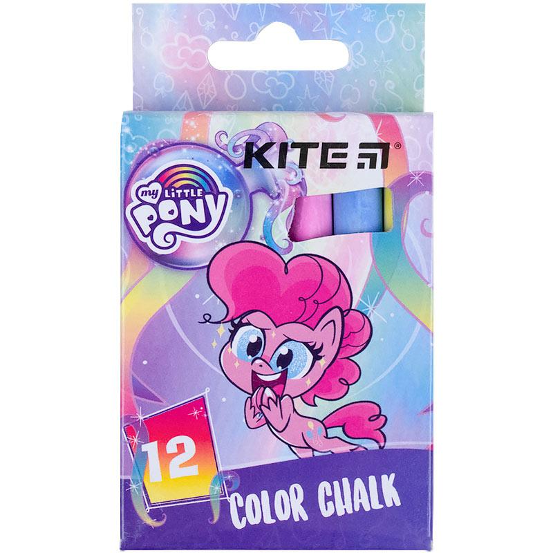 Крейда кольорова Kite Jumbo My Little Pony LP21-075, 12 штук