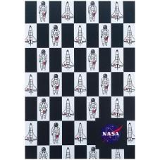 Блокнот-планшет Kite NASA NS21-194-1, A5, 50 листов, клетка