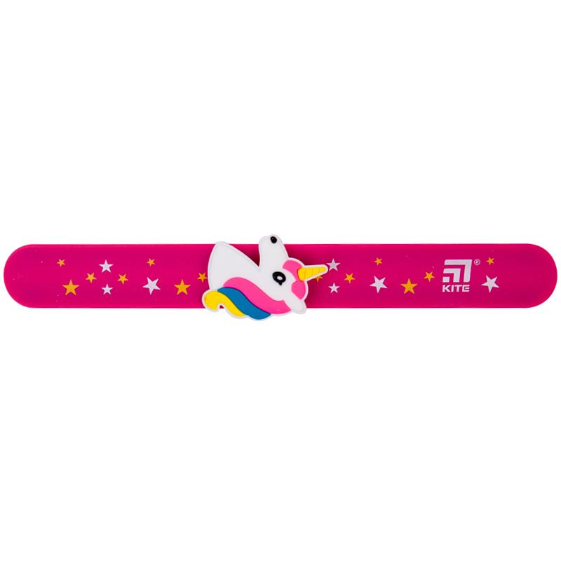 Лінійка-браслет Kite K20-018, з фігуркою 15 см, рожева