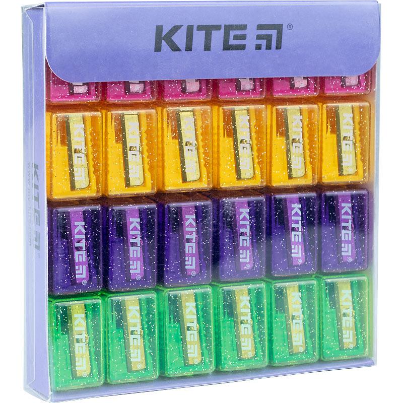 """Точилка з контейнером Kite """"Magic"""" K20-167, асорті"""
