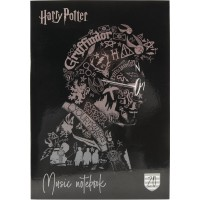 Тетрадь для нот Kite Harry Potter HP20-404-2, А4, 20 листов