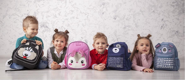 Рюкзак для дошкільнят: ТОП-5 моделей