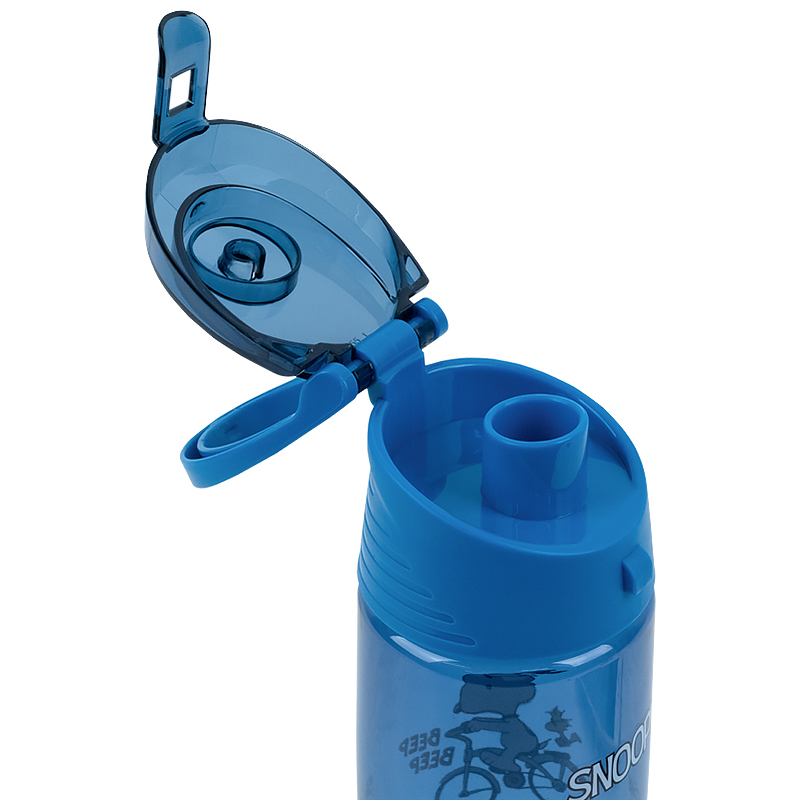 Пляшечка для води Kite Snoopy SN21-401, 550 мл, блакитна