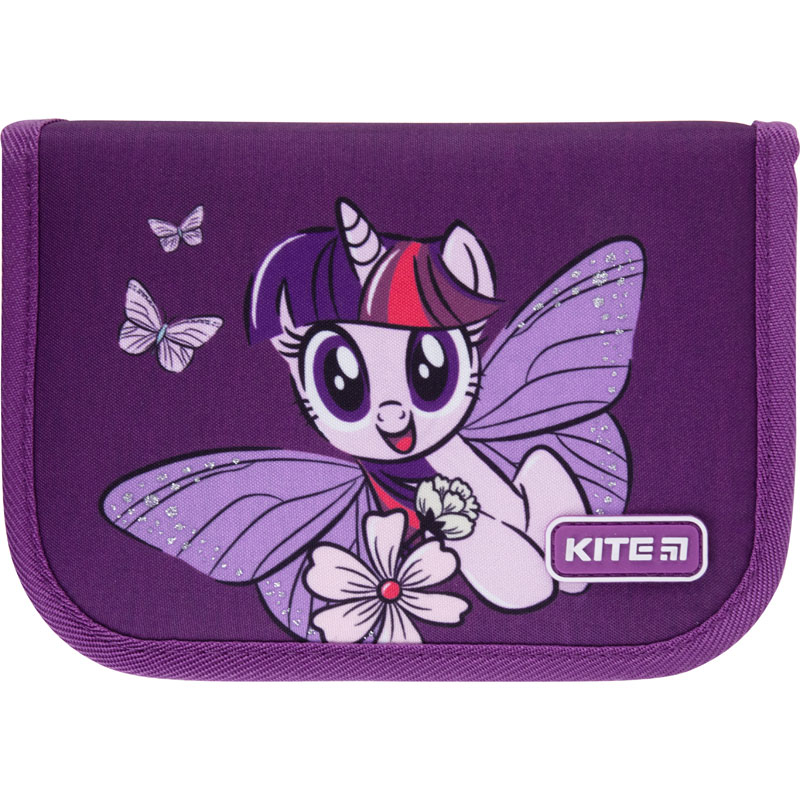 Пенал без наполнения Kite Education My Little Pony LP21-621, 1 отделение, 1 отворот