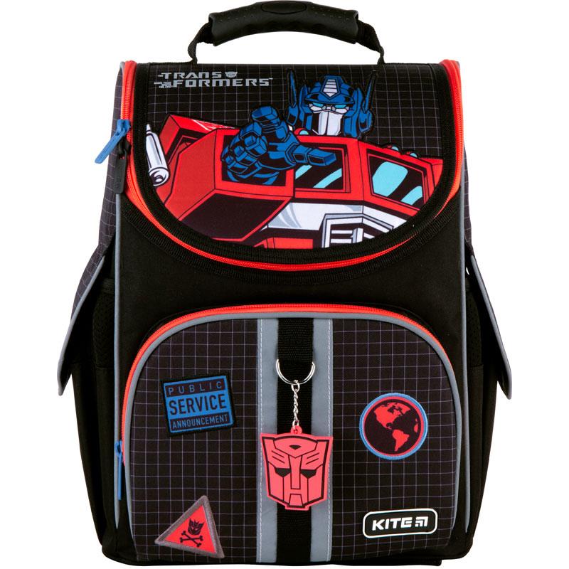 Рюкзак шкільний каркасний Kite Education Transformers TF21-501S